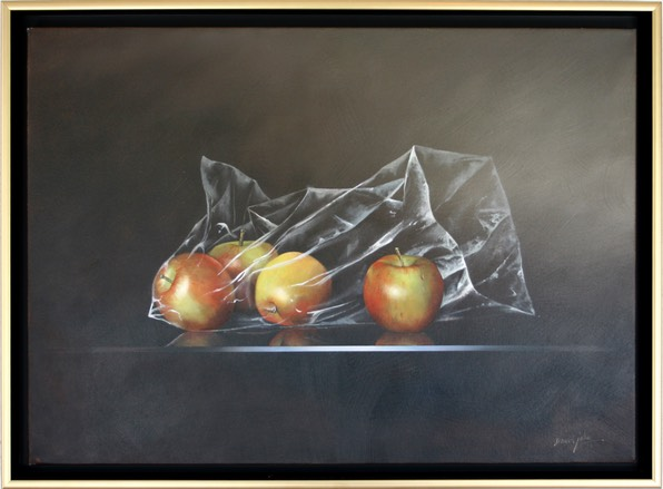 Apples in Plastic