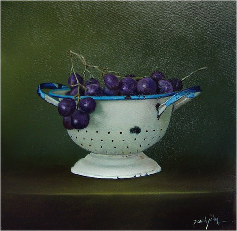 Collander-grapes